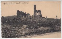 Ruines Des Environs De Kemmel, 1914-18 Ruines De L'Eglise (pk22801) - Heuvelland