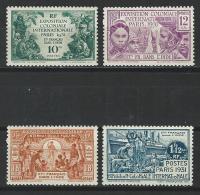 Inde Yv. 105-08, Mi 104-07 * - India (1892-1954)