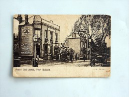 Carte Postale Ancienne : Royal Oak Hotel, NEW MALDEN - Surrey