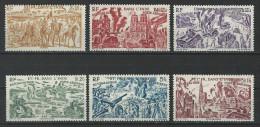 Inde Yv. Av. 11-16, Mi 275-80 * - India (1892-1954)