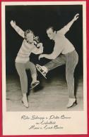 Foto-AK 'Eislaufpaar Rike Schropp Und Poldi Bierer' ~ 1958 - Figure Skating