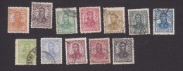 Argentina, Scott #145-147, 149-151, 153-158, Used, San Martin, Issued 1908 - Usati