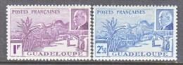GUADELOUPE    157-8    *    VICHY - Guadeloupe (1884-1947)
