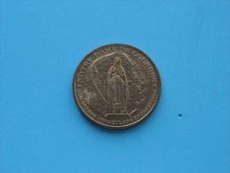 SAINTE BERNADETTE 1844 ° 1879 LOURDES - NOTRE DAME DE LOURDES ( 34 Mm. / 15.7 Gr. Cu - For Grade, Please See Photo ) ! - Tourist