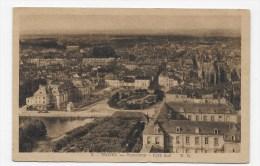 (RECTO / VERSO) TROYES EN 1947 - N° 5 - PANORAMA COTE SUD - CPA - Troyes