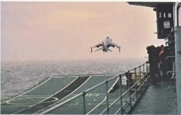 FALKLANDS  ISLANDS  WAR  SEA  HARRIER  FROM  INVINCIBLE  * - Falkland Islands