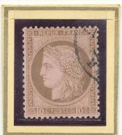 N°54 NUANCE ET OBLITERATION BELLE FRAPPE. - 1871-1875 Ceres