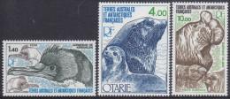 TAAF, 1979 FAUNA 3 MNH - Terres Australes Et Antarctiques Françaises (TAAF)