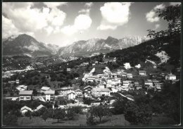 Cartolina Cornei D'Alpago, Ortsansicht Mit Bergpanorama - Autres Villes