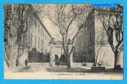 CARPENTRAS (Vaucluse) LE MUSÉE  - 1923 - - Carpentras
