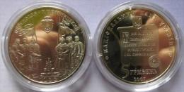 "Ukraine - 5 Grivna Coin 2007  ""1100 Years Of Perejaslav-Khmelnytskyi"" UNC - Ucraina"