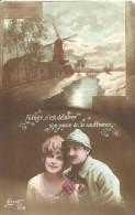 13 - CPA - Grande Guerre - Soldat Français Et Sa Femme - Editeur SUZY - N°508 - 1918 - (couleur)  - - Patriotiques