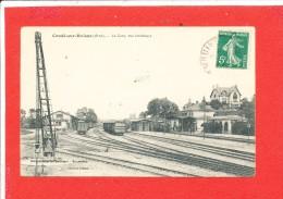 61 CONDE Sur HUISNE Cpa La Gare Vue Intérieure       Edit Chéchin - France
