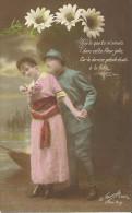 17 - CPA - Grande Guerre -Soldat Français Et Sa Femme - Editeur La Favorite - Visé Paris -N°2393/4 -1917 - (couleur)  - - Patriotiques