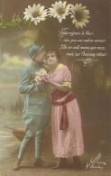 19 - CPA - Grande Guerre -Soldat Français Et Sa Femme - Editeur La Favorite - Visé Paris -N°2393/1 -1917 - (couleur)  - - Patriotiques
