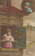 22 - CPA - Grande Guerre -Soldat Français Et Sa Femme - Editeur REX - N°819 -1918 - (couleur)  - - Patriotiques