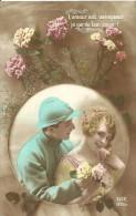 31 - CPA - Femme & Militaire - Editeur DIX N°973/3 - 1918 - (couleur)  - - Patriotiques