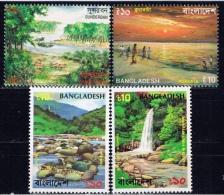 BD+ Bangladesch 1993 Mi 449-52 Mnh Naturschönheiten - Bangladesch
