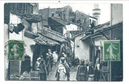 CPA - Afrique - Algérie - CONSTANTINE - Rue Des Forgerons Arabes  // - Constantine