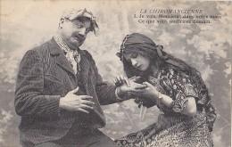 Croyances - Astrologie - Fantaisie Série 6 Cpa - Chiromancienne Gitane Bonne Aventure  - Main - Astrology