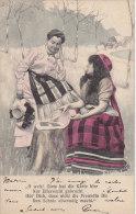 Croyances - Astrologie  Bonne Aventure Cartes - Gitane Roulotte - Femmes - Karte - Postmarked Zurich 1905 - Astrology