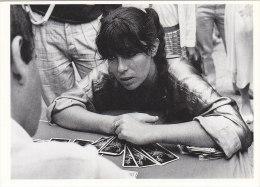 Croyances - Astrologie  - Femme Cartomancienne Cartes à Jouer - Tarot -  Paris-Beaubourg 1985 - Astrology