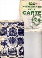 2 Sachets Vente CP - As De Coeur  Artaud Frères  Carquefou Près Nantes -120e Anniversaire UPCP - Plus 1 Sachet  Pays-Bas - Supplies And Equipment