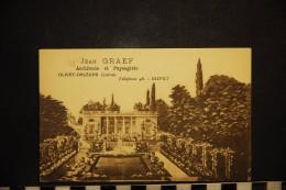 CP, 45, OLIVET ORLEANS Publicité Jean GRAEF Architecte Et Paysagiste PUBLICITE - Advertising