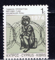 CY+ Zypern 1991 Mi 7 IIIA Mnh Flüchtlingskind - Unused Stamps
