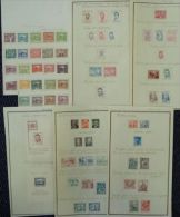 CZECH REPUBLIC 1918 AND 1948-52 STAMP COLLECTION - Czech Republic