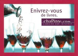 CPM. Carte à Pub.  Culture. Livres. Chapitre.com - Advertising