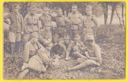 Militari Austriaci E Gioco Delle Carte 1916 - Guerre, Militaire