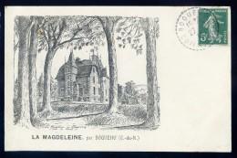 Cpa Du 22 Boqueho - La Magdeleine  .. Chatelaudren  SEPT5 - Châtelaudren