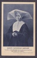 Postcard. Sainte Catherine Laboure. - France