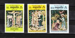 Anguilla   -  1976. Crocifissione  Resurrezione Di Cristo. Tappezzeria. Crucifixion Resurrection Of Christ. Tapestry MNH - Vetri & Vetrate