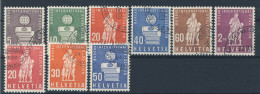 Schweiz �mter BIE Michel No. 40 - 48 gestempelt used