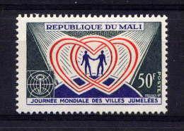 MALI - N° 109** - JOURNEE MONDIALE DES VILLES JUMELEES - Mali (1959-...)