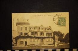 CP, 44, GUERANDE Chateau De Bissin       N°436  Edition Vassellier - Guérande