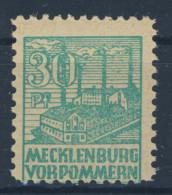 SBZ Mecklenburg Vorpommern Nr. 39 y za ** postfrisch / gepr�ft BPP Kramp