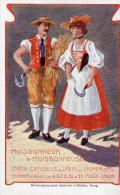 Cpa Suisse Fête Des Vignerons Vevey En 1905, Beaux Personnages En Habits De Travail  (47.24) - Vari