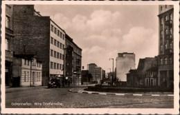 ! Ansichtskarte Aus Gdingen, Gdynia, Gotenhafen, Westpreußen, Polen, Poland, Pologne, Bahnhofsplatz, Alte Dorfstraße - Westpreussen