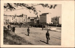 ! Ansichtskarte Aus Gdingen, Gdynia, Gotenhafen, Westpreußen, Polen, Poland, Pologne, Feldpost 1940, Flugmeldeabteilung - Westpreussen