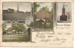 EUD.0044/ Gruss Aus Droschkau (Droszkow) - Pologne