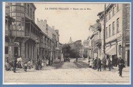 BELGIQUE -- La PANNE - Village- Route Vers La Mer - Autres