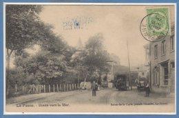 BELGIQUE -- La PANNE -- Route Versa Mer - Belgique