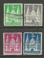 DEUTSCHLAND 1948/49 Bizone Michel 97 - 100 O - American/British Zone