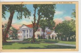 CALUMET FARM / LEXINGTON - KY (avec Good STAMP Air Mail) - Lexington