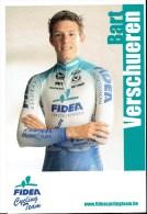 Fidea Cycling Team - Bart Verschueren - Sportifs