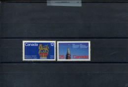CANADA POSTFRIS MINT NEVER HINGED POSTFRISCH EINWANDFREI YVERT 634 642 - 1952-.... Regering Van Elizabeth II