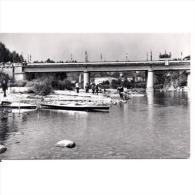 ASTRATP2884-LFTD6585Tarjeta Postal De ASTURIAS.Puente,piraguas En La BJADA DEL RIO SELLA,en ARRIONDAS - Asturias (Oviedo)